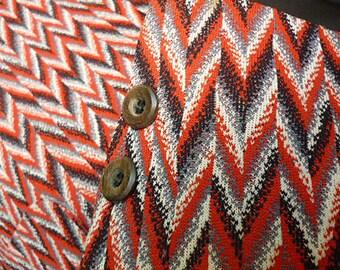 "1970's ""Vegas"" Polyester Disco Sports Coat"