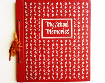 1953 UNUSED School Scrapbook by CR Gibson, Conn