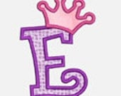Princess Alphabet A-Z...Embroidery Applique Design...Three sizes for multiple hoops...Item1190...INSTANT DOWNLOAD