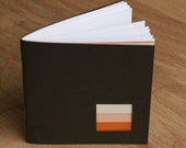 Eco Sketchbook - Miniature Eco-friendly, Recycled note pad, perfect gift for artists, architects, students