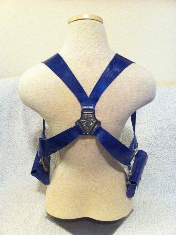 """Custom Leather Wallet Holster Rig - """"Chance"""""""