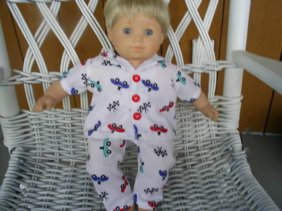Pajamas for american girl bitty baby boy