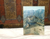 The Great Wall of China Vintage Guidebook..1980..