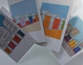 GREETINGS CARDS Beach Hut Collection