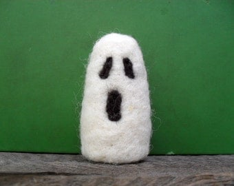 cat toy catnip ghost  needle felted