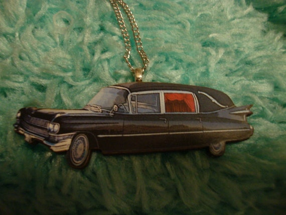 Creepy Hearse Necklace