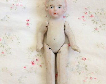 Vintage 1930's Bisque Doll