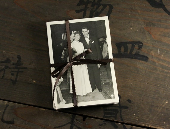 """25 Vintage Photos and Photo Postcards """"Wedding Collection"""" Photography, Paper Ephemera, Snapshot, Old Photo, Collectibles"""