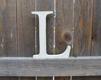 Wood letters Wall Nursery Decor Letter L
