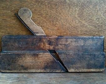 Vintage English Wooden Wood Plane Planing Tool circa 1920-40's / English Shop
