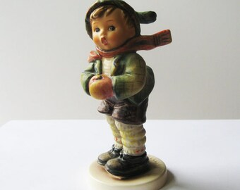 1972 Hummel Figurine 308 it is Cold   No. 6 Special Edition