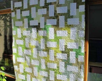 Green Garden Single Bed Quilt