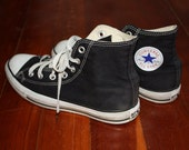 Black High Top Chuck Taylor Converse 6
