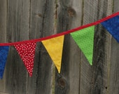 Fabric Flag Banner/ Garland/ Pennant Bunting