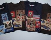 2 for 18.00 Toddler Tshirts Boys Army Airplane TShirts