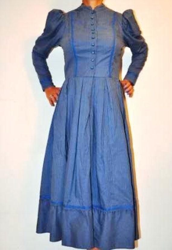 Dirndl dress vintage 1970 size S / M