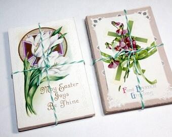 SALE 25 Vintage Easter Postcards