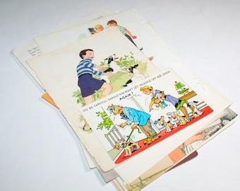 Vintage Ephemera Collage Kit  - Dogs 2
