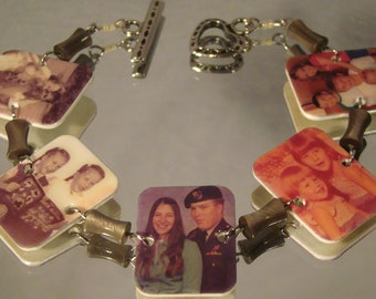 Personalized Photo Bracelet - Personal pictures jewelry -