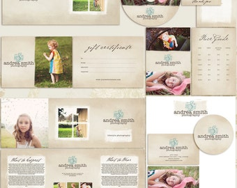 Peace Premade Photography Marketing Set Templates