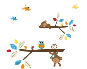 Vinyl Wall Decals Stickers Branch Wall Decals