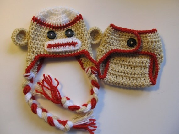 Free Crochet Pattern For Monkey Diaper Cover Legitefo For