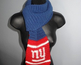 Big Blue Scarf - MADE to ORDER