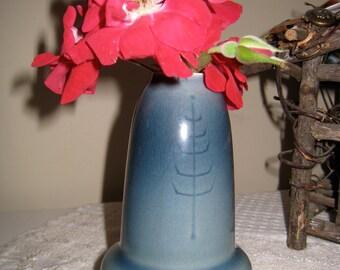 Mid Century Scandinavian Design Modern Vase Stylized Tree