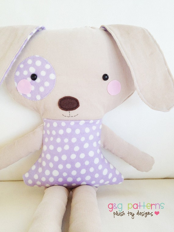 Sew A Cute Puppy Pillow Softie : Unavailable Listing on Etsy