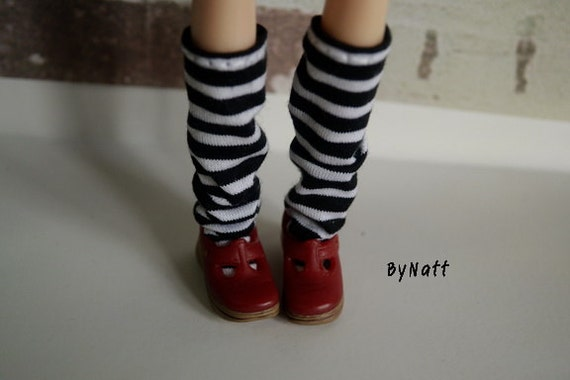 Blythe Doll Shoes/Red T-strap Mary Jane shoes