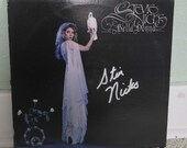 1981 Bella Donna autographed Stevie Nicks record.