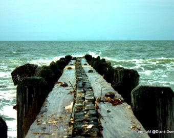Edisto Beach Photography, Charleston SC Photos, Pier Photos, South Carolina Beaches, Cottage Decor -  Beach Wall Art