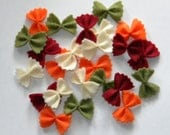Veggie Bow Tie Pasta Farfalle Felt Food - 25 Pieces