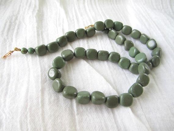 Green Jasper Nugget Convertible Necklace