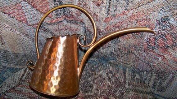Vintage Copper Watering Can - Gregorian - Beautiful