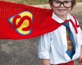 Crocheted Superman Cape