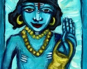 Hare Krishna 8 x 10 Art Print