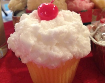 Birthday Cake Scented Cupcake Candles