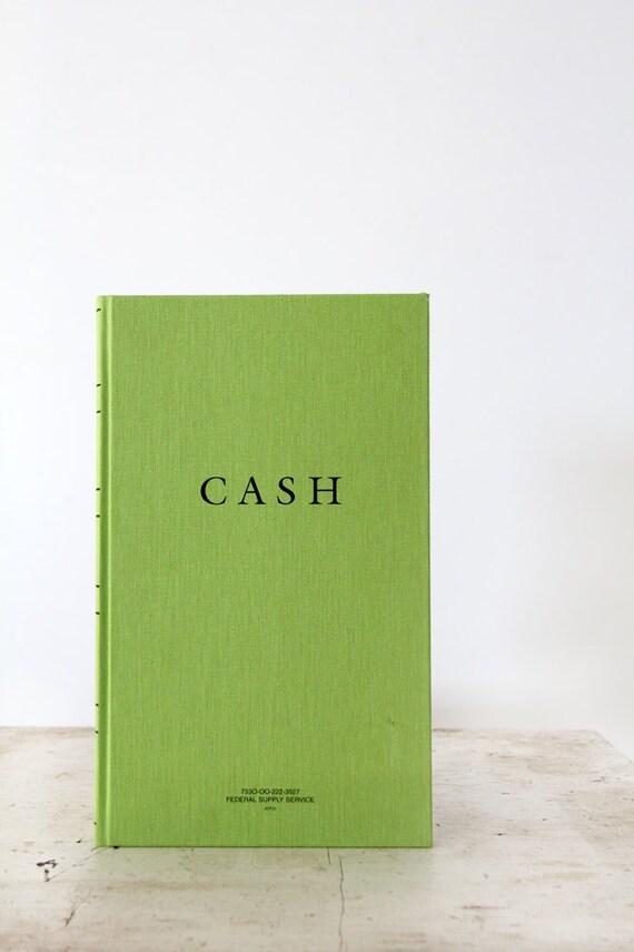 vintage Cash book, nos Federal Supply Ledgers