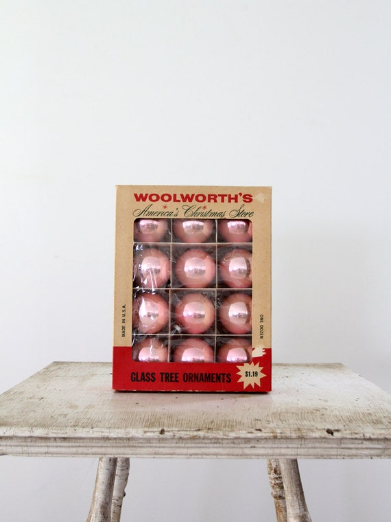Vintage Glass Christmas Ornaments Woolworth S By 86home