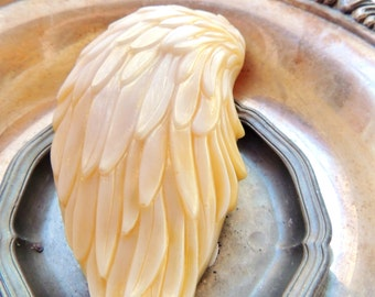 ANGEL WINGS SOAP, On the Wings of Angels, Scented in Victorian Lilac, Vegetable Based Handmade