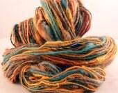 Reserved for Monika...TUTTI FRUITI - 53 yds - Organic wool, Alpaca, locks