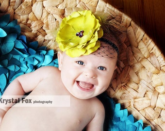 LA VERDE LUXE Couture Headband - Preemie to Adult Sizes Available