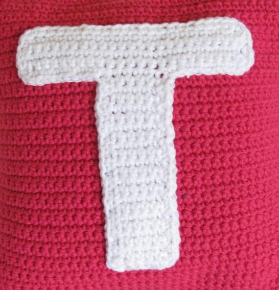 Free Crochet Pattern For The Letter O : Crochet Pattern for Letter T