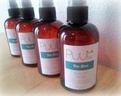 Dry Body Oil Spray - The Blue - Fresh Ocean Scent - Apricot Kernel Oil - 4oz Spray