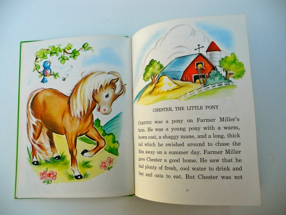 1970's Giant Pillowtime Tales Book