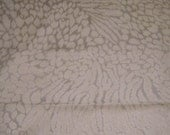 Ultra Suede Fabric  Animal Print Home Decor Projects Pillows
