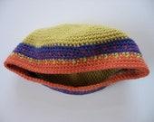 cotton/wool baby beret cap sun hat