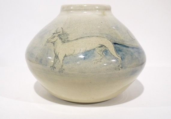 70's Fantasy Art Pottery by Paul Roland Smith