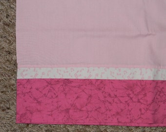 Pink Standard Pillowcase with Music Notes